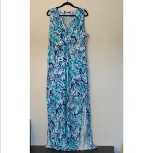 Lilly Pulitzer NWT Essie maxi dress